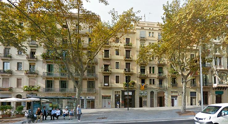 Edifici Passig Sant Joan 59. CasaÁtico