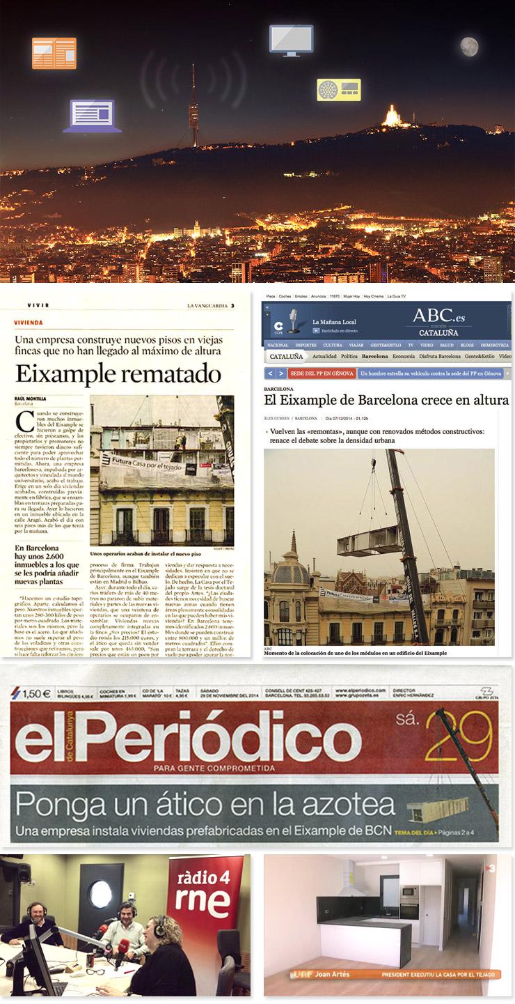 Áticos en los medios - CASAÁTICO Barcelona