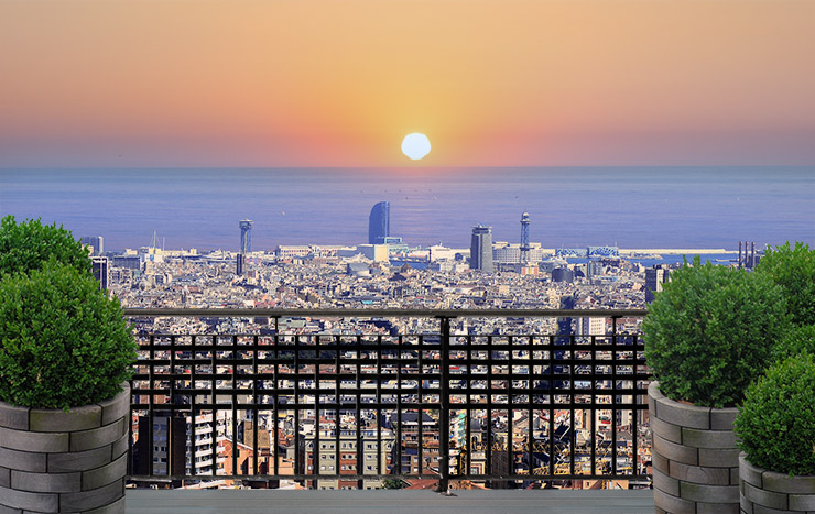 Los nuevos áticos Barcelona -  Casaático