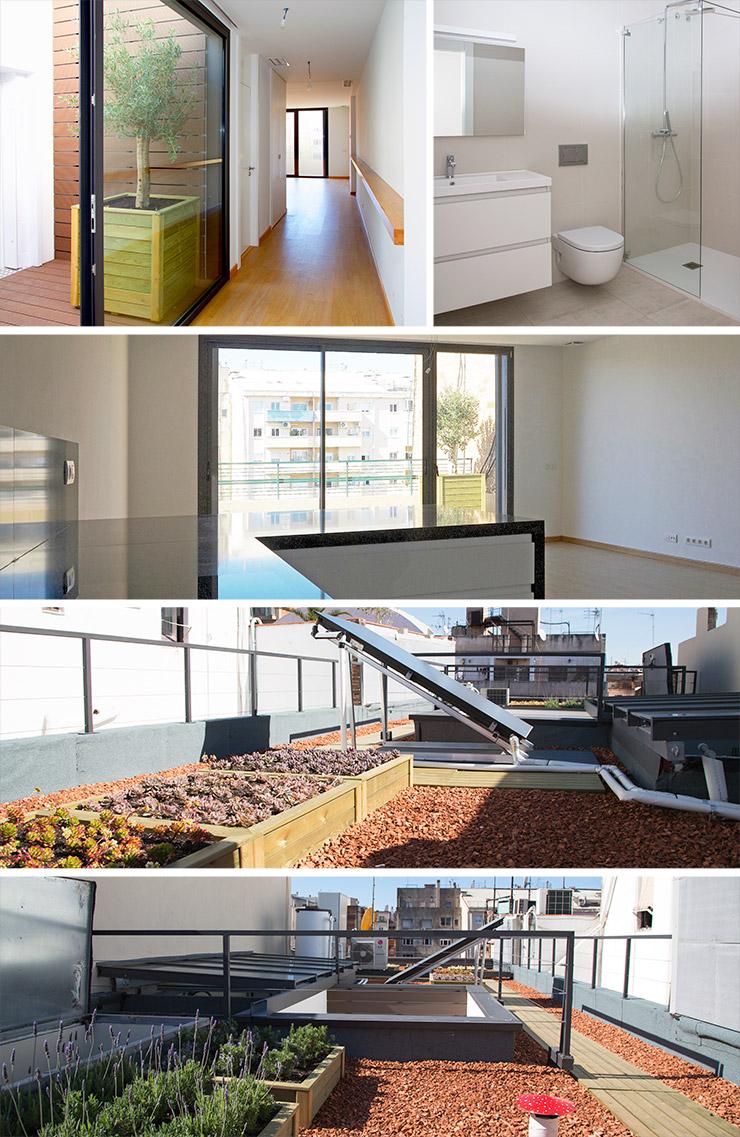 Áticos en venta obra nueva en Barcelona Eixample - Finalización Girona 81 fotos - CASAÁTICO