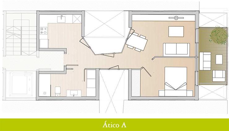 Áticos en venta obra nueva: Inicio de obras - Aragó 12 - Ático A - Casaático