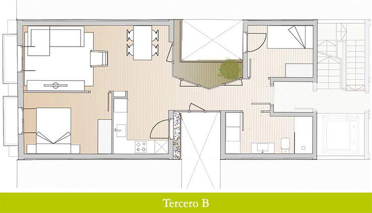 Áticos en venta obra nueva: Inicio de obras - Aragó 12 - Tercero B - Casaático