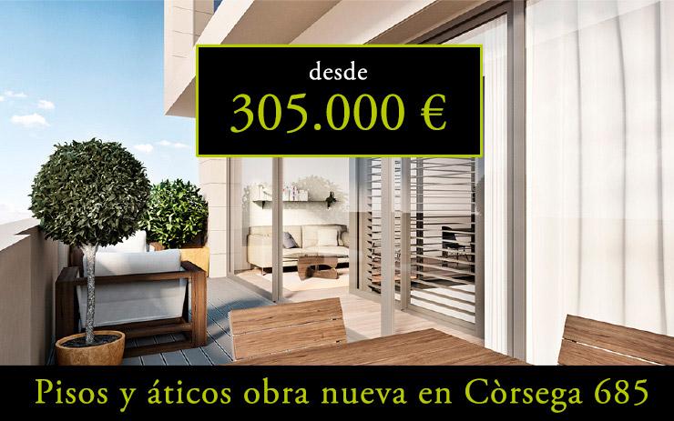 Vivir en Barcelona - Còrsega 685 - CASAÁTICO Barcelona