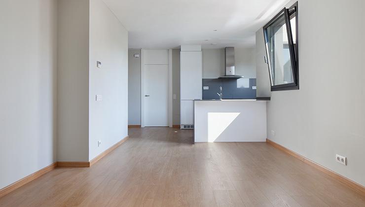 Áticos y pisos en venta obra nueva en Barcelona - Entrega viviendas Aragó 359 - Cocina-comedor - CASAÁTICO